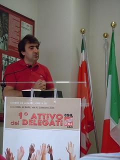 1° Attivo dei Delegati Slc Cgil di Bari   by slccgilbari