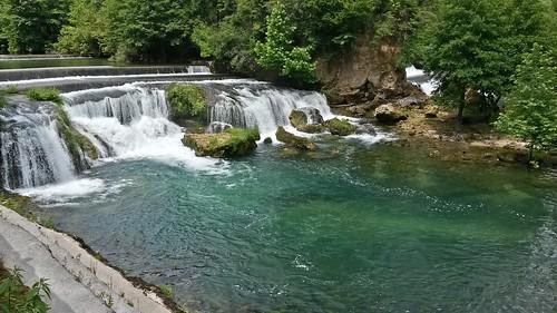 water river bosnia una voda kostel bosna reka