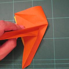 การพับกระดาษเป็นรูปปลาคาร์ฟ (Origami Koi Fish) 011