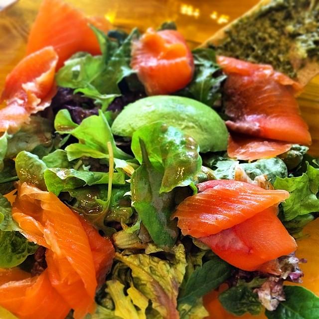 Image result for smoked salmon avo salad