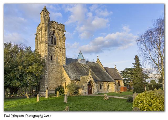 St Lawrence, Skellingthorpe, Lincolnshire