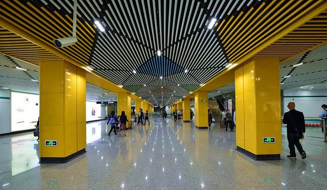 Shanghai - Shaanxi South Road Metro Station
