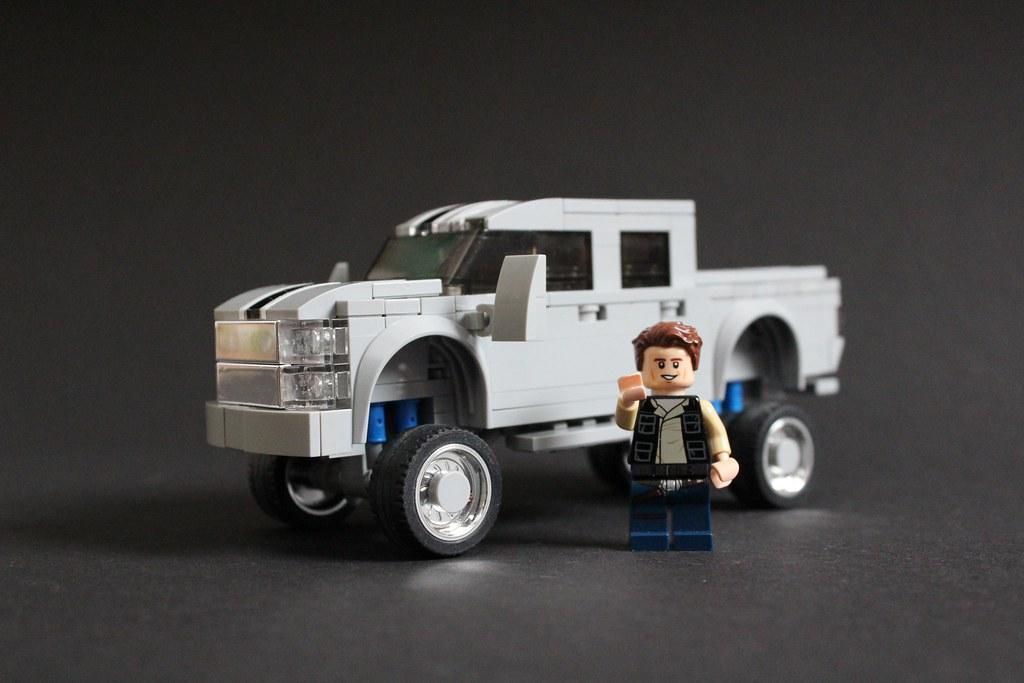 Custom Pickup Trucks >> Custom Pickup Truck A Light Blueish Grey Five Wide Custom Flickr