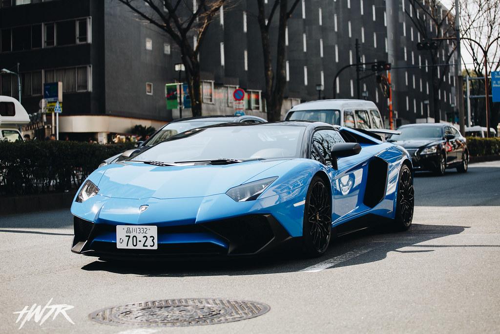 Lamborghini Aventador Harajuku Japan Www Hntrshoots Com Flickr