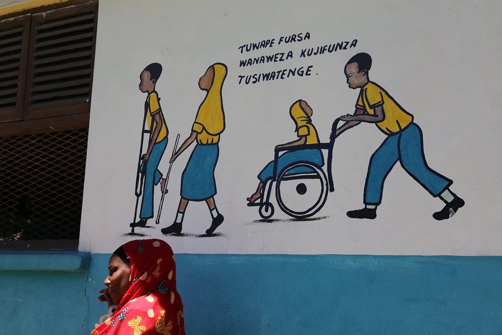 Education In Zanzibar Tanzania A Painting On The Wall In Flickr