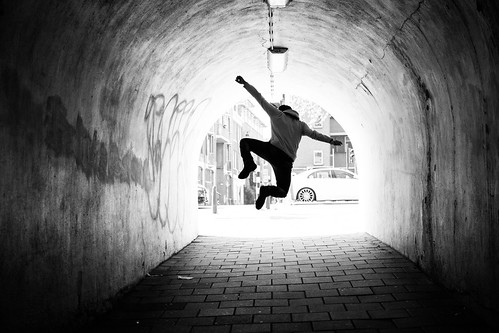 Jump in the Tunnel | by Norbert Eder