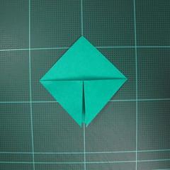 วิธีพับกระดาษเป็นรูปหมวกซามุไร (Origami Samurai Hat) 004