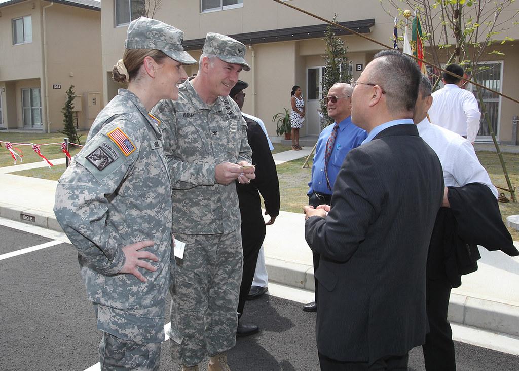 New Housing Units on Camp Zama   Command Sgt  Maj  Steven L