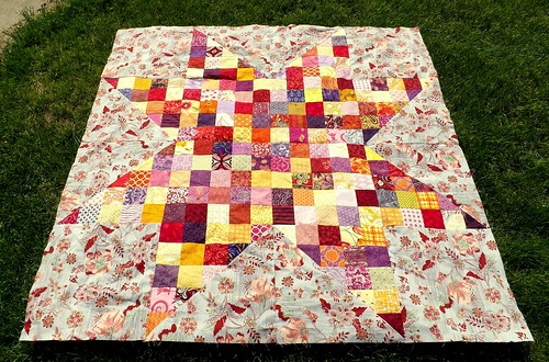 Patchwork Star Baby Quilt | by Grey Cat Quilts