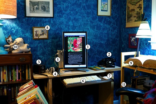 This Author's Desk / Workspace / The Room Where It Happens