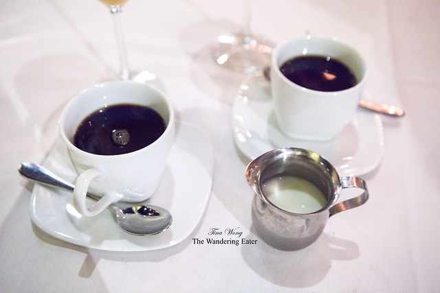 Our cups of coffee