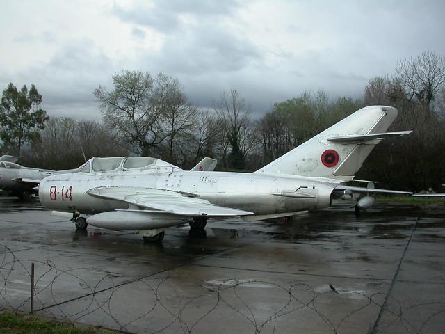 Shenyang FT-5 8-14 c/n 551224. ex Albanian-AF. (Stored Tirana-Rinas, 14-03-2013)