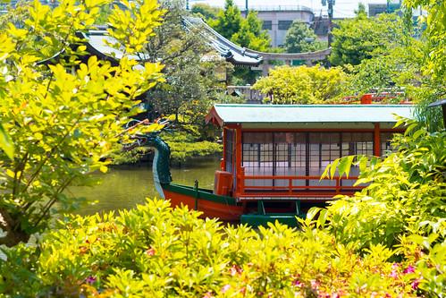 神泉苑 / Shinsen-en Temple