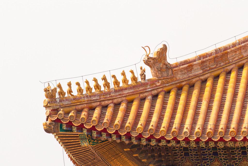 太和殿檐獸 Imperial Roof Decoration Hall Of Supreme Harmony