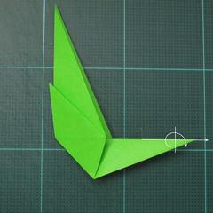 การพับกระดาษเป็นรูปแมวน้ำ (Origami Seal) 005