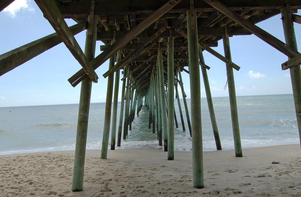North Carolina, Kure Beach, Kure Beach Fishing Pier (2,359