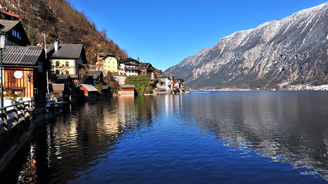 Hallstatt  哈斯達特 奥地利 UNESCO World Heritage Austria (c) 2017 Бернхард Эггер :: ru-moto images 3222