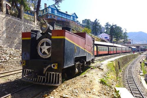 railway worldheritagesite himalaya train rail mountains hillstation himachalpradesh kalkashimla shivalikhills shimla britishraj unesco narrowgauge engineering