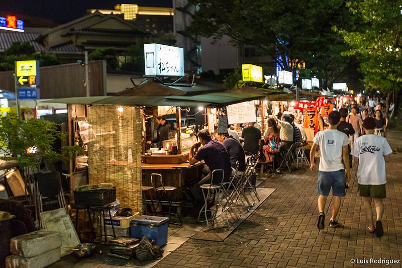 Los yatai de Fukuoka son lugares perfectos para comer ramen