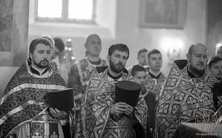 Литургия в Покровском соборе 250