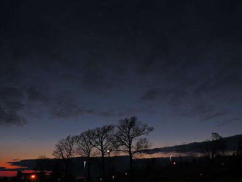 sunset ohio sky nikon vivid summit