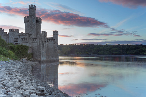 ireland sunset castle cork blackrock d700 nikon1735f28