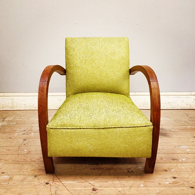 Incredible 1920S 30S Classic French Lounge Chair Reupholstered In Ocoug Best Dining Table And Chair Ideas Images Ocougorg