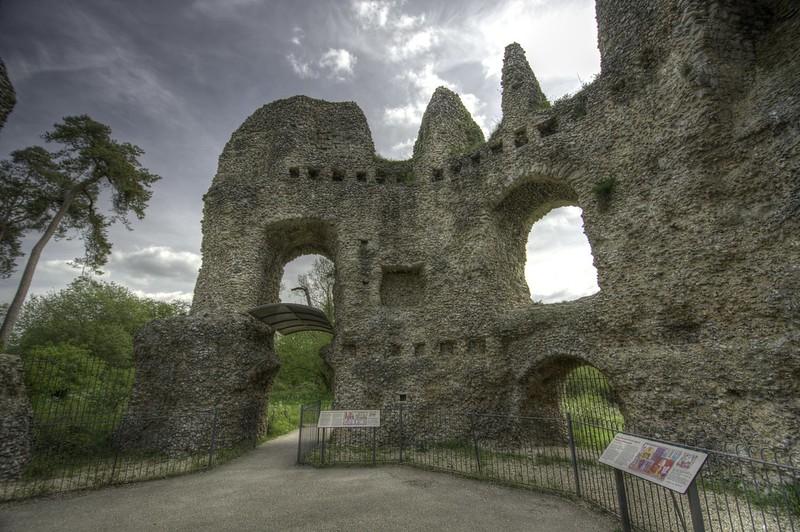ruinas Castillo de Odiham