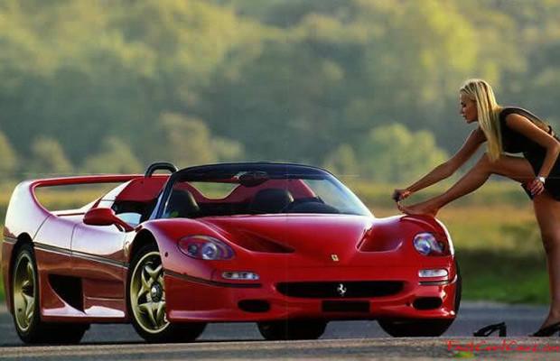 Hot Girl And Ferrari Yanisa7877 Flickr