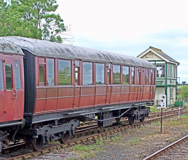 Gresley passenger carriage