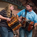 Mary Tweedel and Troy LeJeune: Battle of the Accordionists at the Liberty Theater, June 21, 2014
