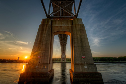 bridge sunset ma canal unitedstates capecod massachusetts newengland bourne