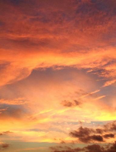 sunset oniedanewyork