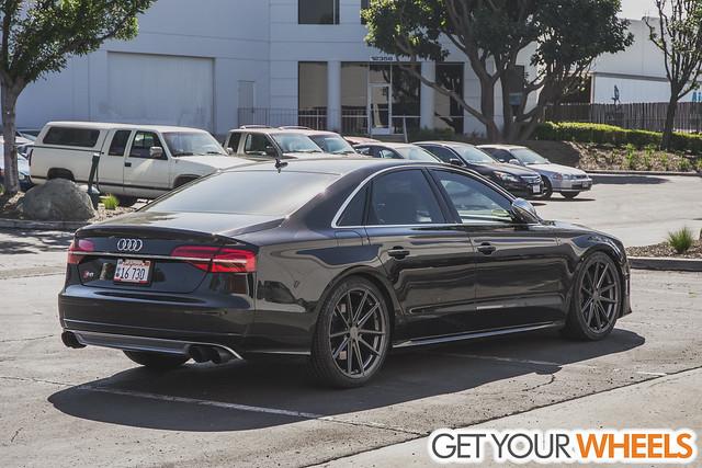 Audi S8 - TSW Bathurst Gunmetal