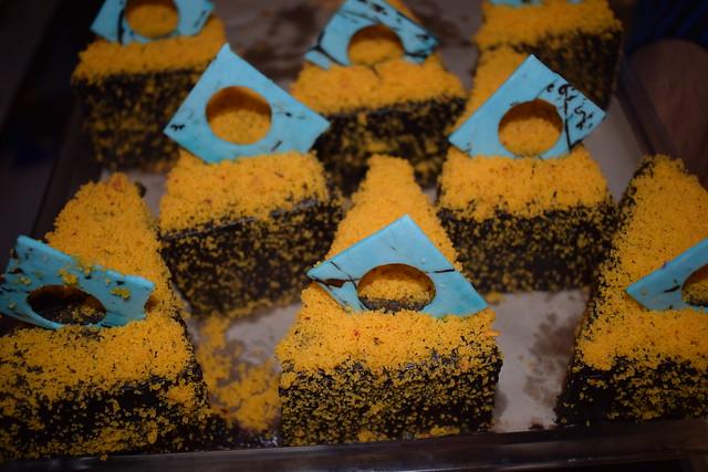 Orange Velvet truffle pastry