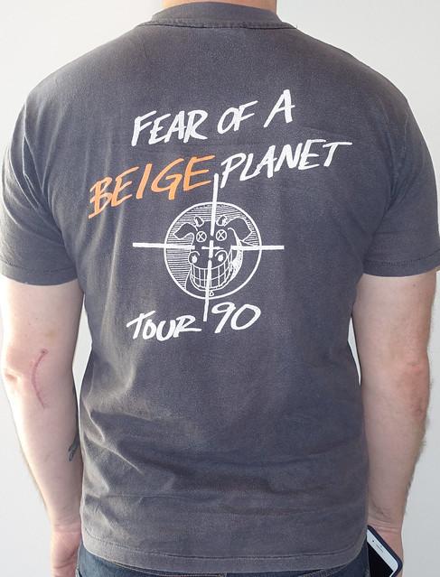 #2038B Dead Milkmen - Metaphysical Graffiti Fear Of A Beige Planet Tour 1990
