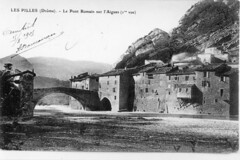 Le pont roman côté amont