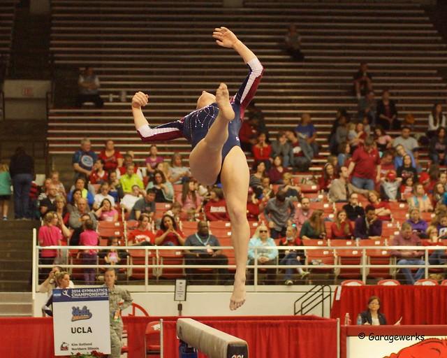 University of Arkansas Razorbacks Host 2014 NCAA Gymnastics Regional