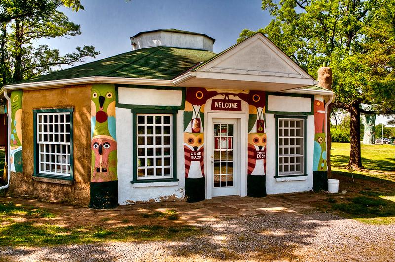 Totem Pole Park - Chelsea, Oklahoma