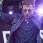 Sat, 14/06/2014 - 7:13pm - Damon Albarn wowed us with solo songs, Blur tunes, and a surprise dose of Gorillaz. Photo by Laura Fedele