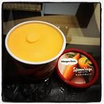 美味いときいたので、キャロットオレンジ。たしかに美味い。けど、リピーターになるほどじゃないかな。