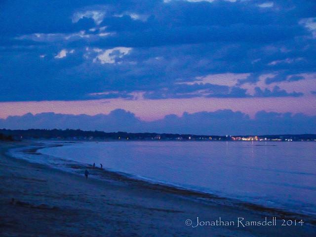 Ferry Beach - Dusk