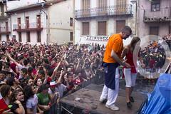 Entre la multitud en el txupinazo