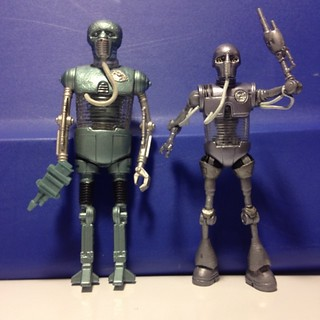 Star Wars 2-1B (Medical Droid) 1997 and 2-1B (Surgical Droid) 2008 | by SacredKnightOfTomorrow