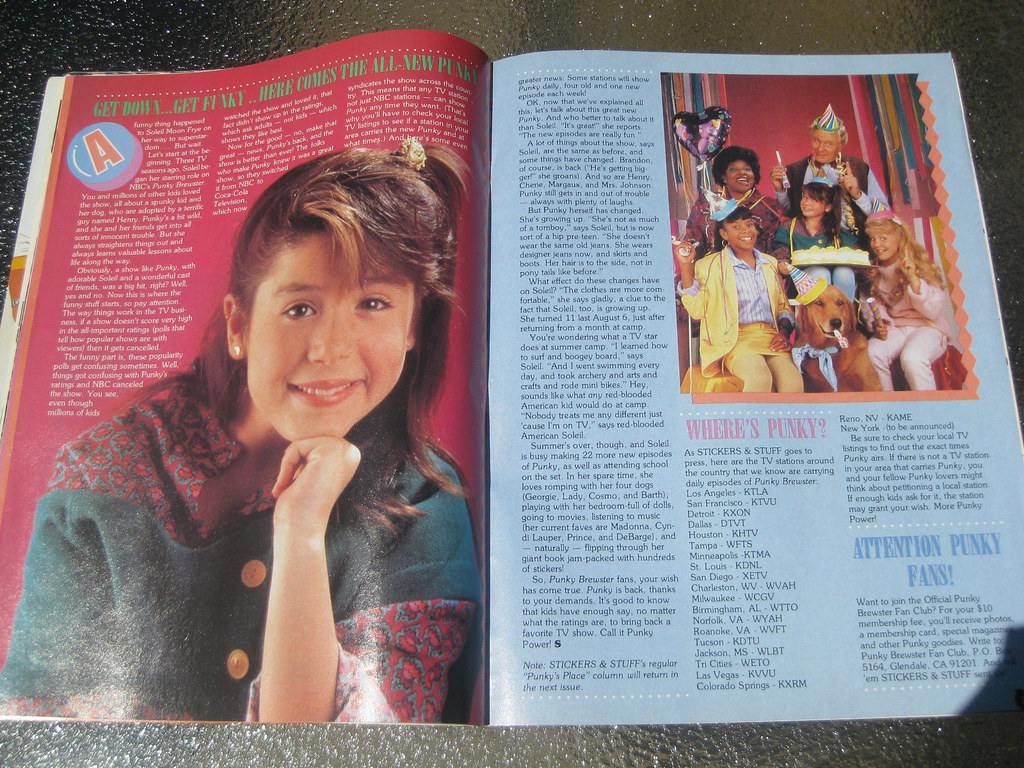 Punky Brewster Stickers Stuff Magazine Check Out Www P
