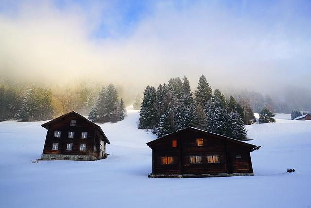 Hinder Prufatscheng, Liechtenstein Alps