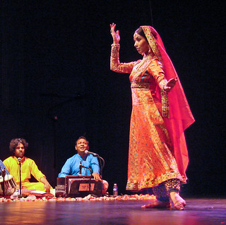 Megha Jagawat, danseuse de Kathak (musée Guimet, Paris)