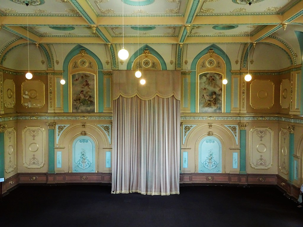 Bendigo  Main chamber of the public hall  First part of th… | Flickr