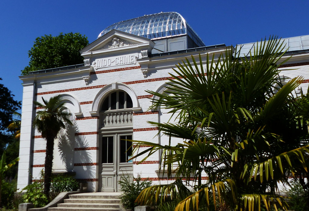 Paris Jardin Tropical Pavillon De L Indochine Paris Tro Flickr