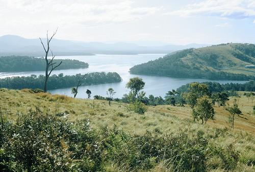 aus film myalllakesnationalpark northcoast pentax rural takumar lake bushwalking wilderness australia kodachrome nsw newsouthwales